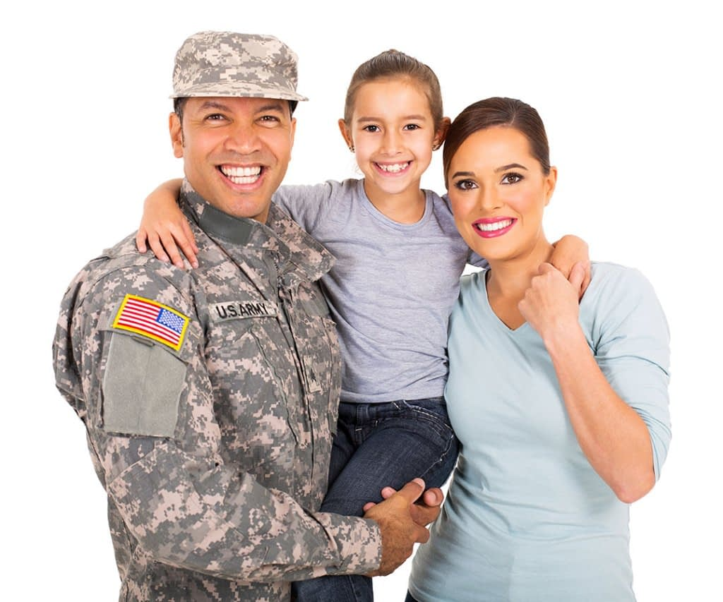 soldier family